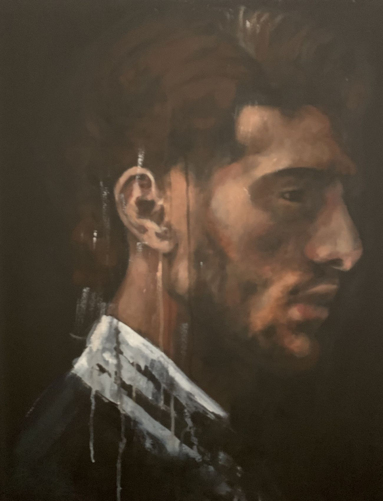 French Man | 28 x 35 inches