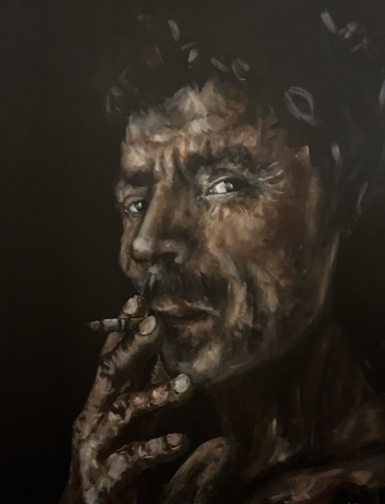 Smoke and Mirrors | 86 x 35 inches
